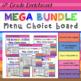 Math Choice Board Mega Pack – All 6th Grade Standards – Year Long