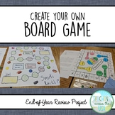 Year-End Project: Design a Board Game (5th grade)