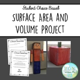 Math Choice Project: Surface Area and Volume