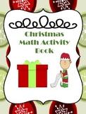 Math Christmas Activity Book