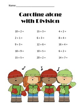 Math Christmas Activity Book