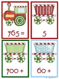 Math Christmas Bundle base ten expanded form mystery number rounding