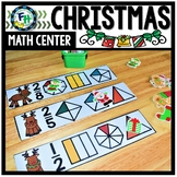Math Christmas Center: Reindeer Fractions