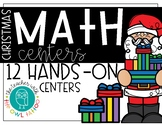 Math Christmas Centers (first grade)