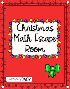 Math Christmas Escape Room