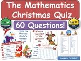 Math Christmas Quiz! (Mathematics, Maths)
