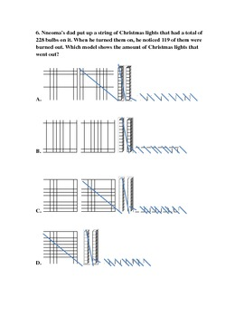 Math Christmas TEKS Review