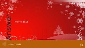 Math Christmas Theme Fun Challenge - A non-routine math game