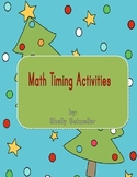 Math Christmas Timing Activities