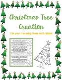 Math Christmas Tree Creation