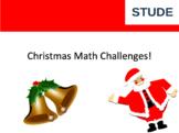 Math Christmas addition and subtraction