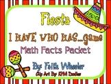 Cinco de Mayo Fiesta: I Have Math Facts