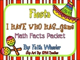 Cinco de Mayo Fiesta: I Have Math Facts