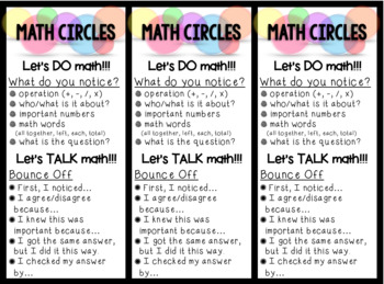Math Circles!!!