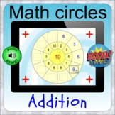 Math Circles: Addition BOOM distance learning math puzzles