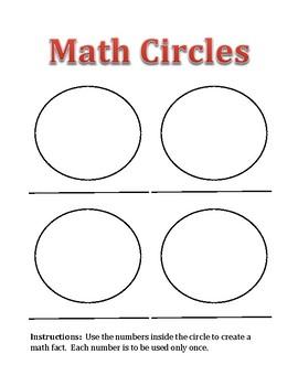 Math Circles Puzzle