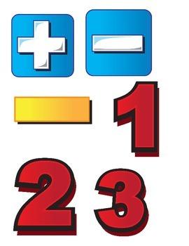 Math Classroom Clipart