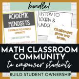 Math Classroom Community Bundle