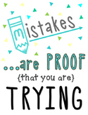 Math Classroom Poster: {Great Reminder for Students!}