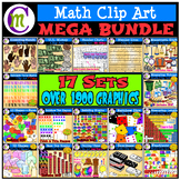 Math Clip Art MEGABUNDLE
