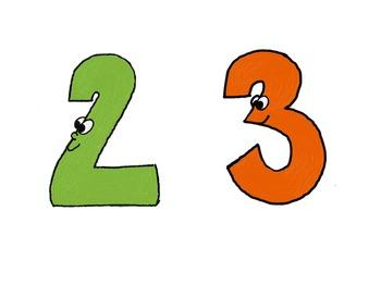 Math Clip Art - Digits 0-9, +, -, =