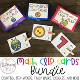Math Clip Card Bundle