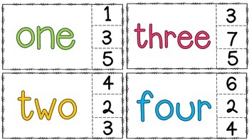 Math Clip Cards (14 skills)