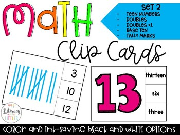 Math Clip Cards Set 2