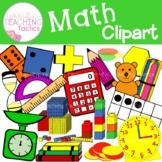 Math Supplies Clip Art (Back to School)