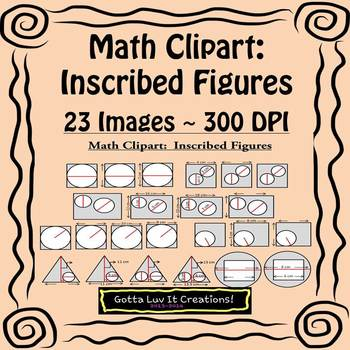 Math Clipart Inscribed Figures
