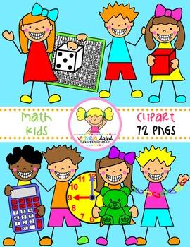 Math Clipart Kids Clipart By Victoria Saied Teachers Pay Teachers