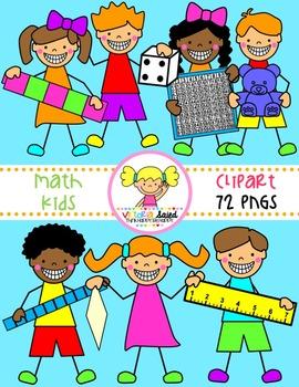 Math Clipart {Kids Clipart}