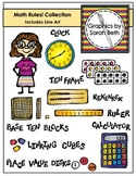 Math Clipart - Math Rules! Collection - Graphics