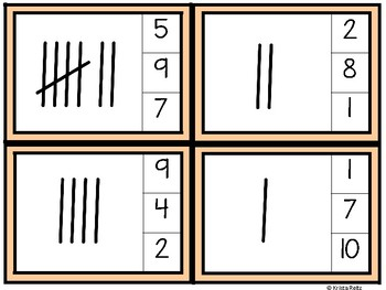 Math Clips Freebie