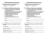 Math Club Interest Survey