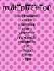 Math Clue Words