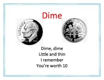 Math: Coins Poem