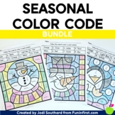 Math Color By Code - Seasonal Bundle