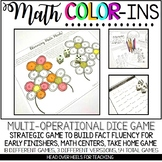 Math Color Ins: Multi-Operational Dice Game