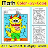 Color by Number Monster Math: Early Finishers, Morning Work