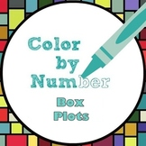 Math Color by Number - Box Plot Fun