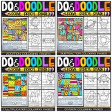 Math Color by Number Bundle | Do and Doodle