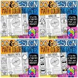 Math Color by Number Bundle | Fun Partner Games