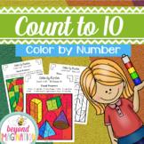 Color by Number Worksheets Coloring Pages Pre K Kindergarten First Grade