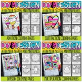 Math Color by Number Bundle | Do and Design 1