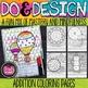 Math Coloring Pages - Do & Design Bundle 1