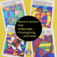 ALL YEAR Math Fact Coloring BUNDLE    Incl. Fall Math, Halloween Math & More!