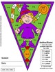 Math, Colors, Scissors - 001 - Halloween - 1st grade - Com