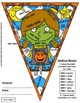 Math, Colors, Scissors - 001 - Halloween - 4th grade - Com