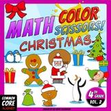 Math, Colors, Scissors - 002 - Christmas - 4th grade - Com